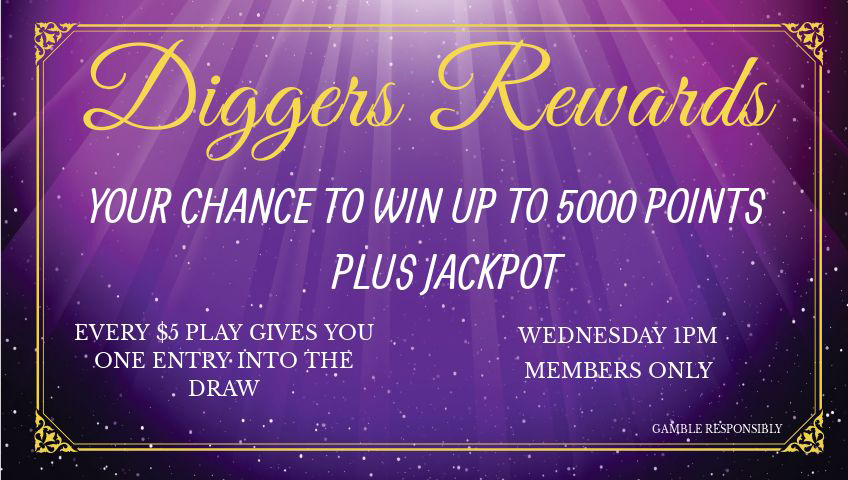 Wednesday-Diggers Rewards