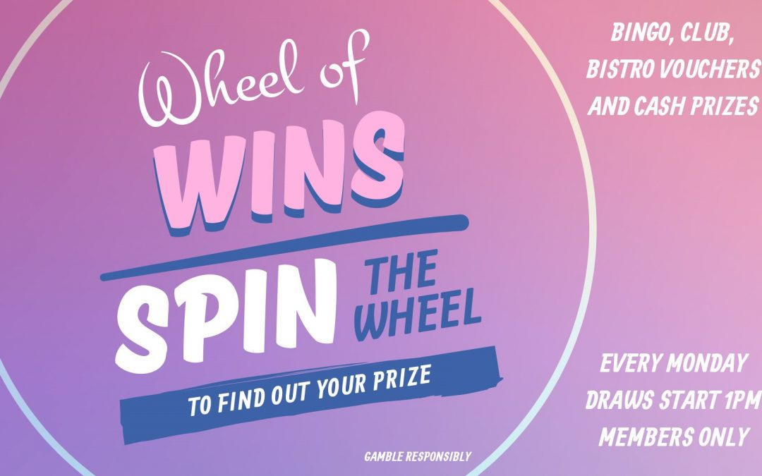 Monday-Wheel of Wins