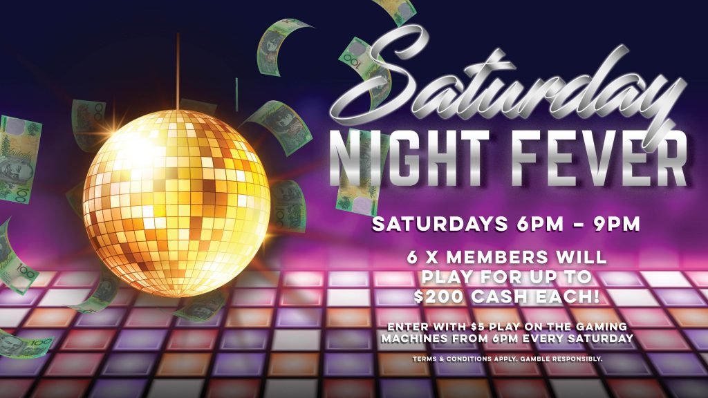 Saturday Night Fever Gympie RSL