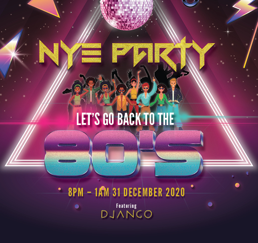 Back to the 80's – New Years Eve