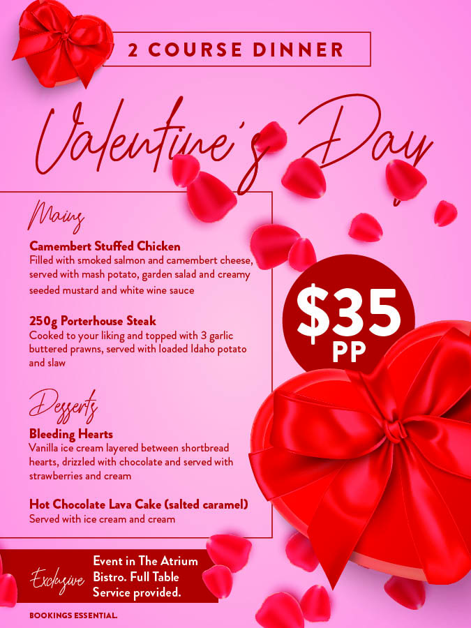 valentines day at gympie rsl