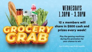 Grocery Grab at Gympie RSL