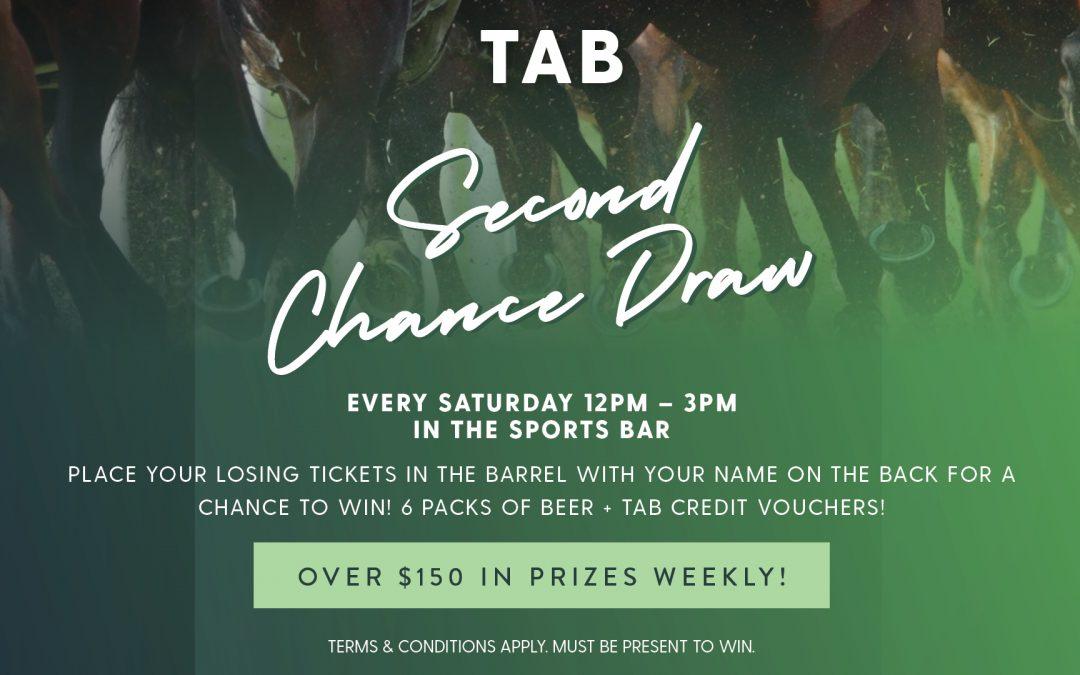 TAB Second Chance Draw