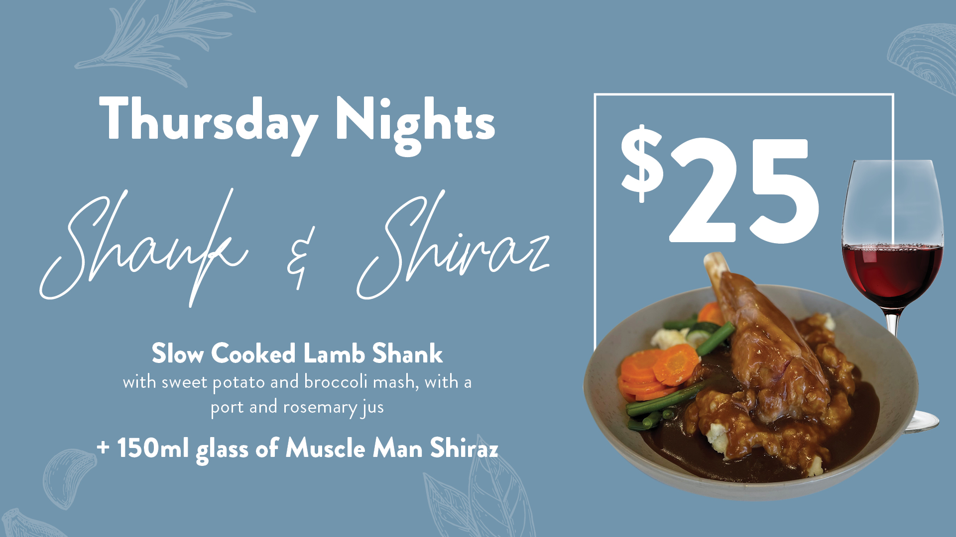 Shank and Shiraz at Gympie RSL