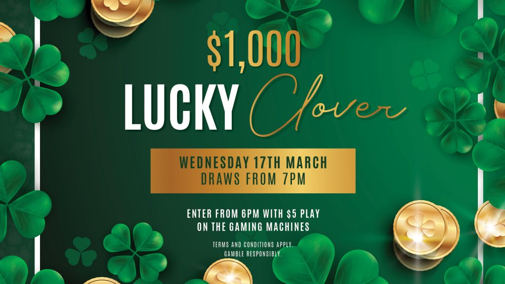 Lucky Clover at Gympie RSL