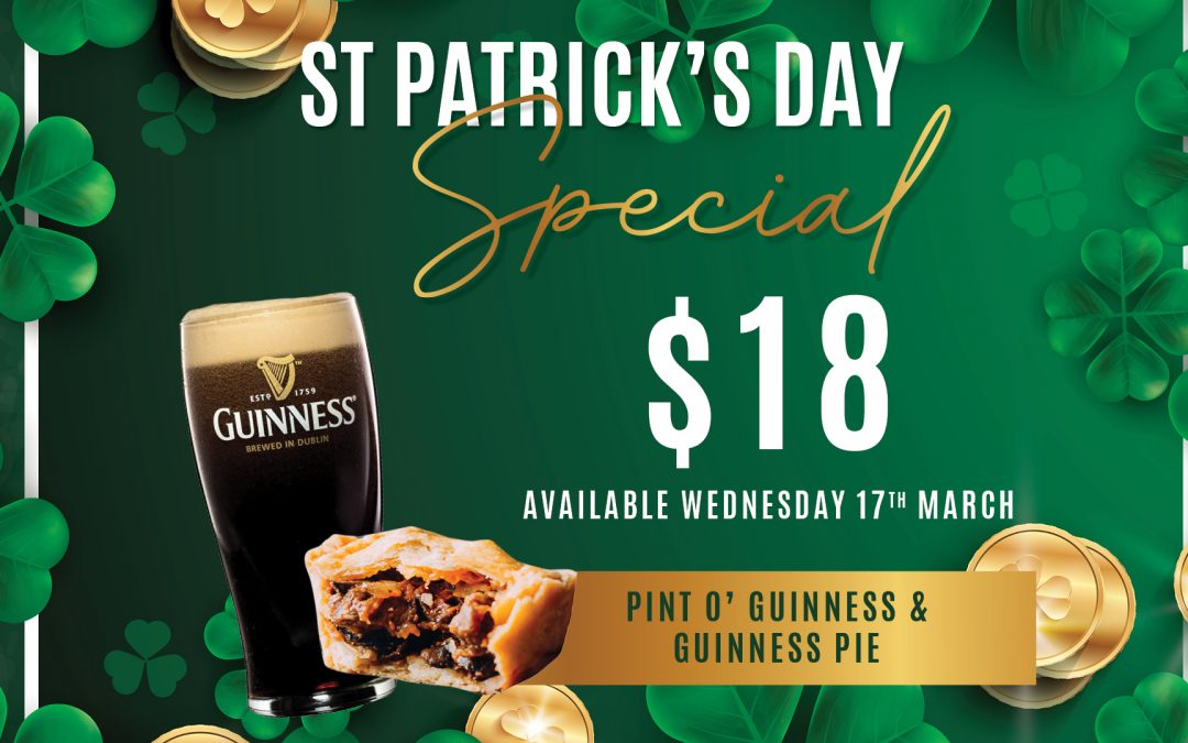 St Patricks Day Special at Gympie RSL